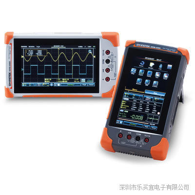 台湾固纬 GDS-307 手持式示波表 触控式示波器