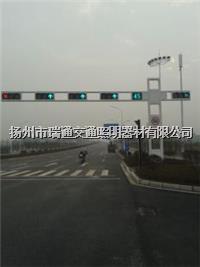 一体化框架信号灯杆(横装) HS-XHG-009