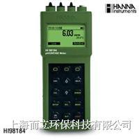 HI98184高精度防水型pH/ORP/ISE/温度测定仪 HI98184