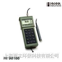 HI98188 便携式高精度电导率/电阻率/TDS/NaCL/温度测定仪 HI98188