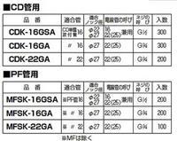 杉本MFSK-16GSA,PF管连接器丨MIRAI未来工业MFSK-16GSA型号价格颜色图片参数齐全