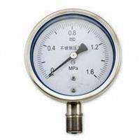 全不銹鋼耐震壓力表 YTF-100H YTF-150H