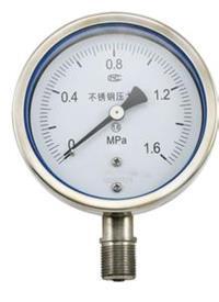 耐震壓力表 YN-100T 0~1.6MPa