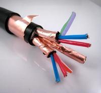 聚乙烯絕緣對絞銅帶總屏蔽聚氯乙烯護套軟計算機阻燃電纜 ZRC-DJYVP2R