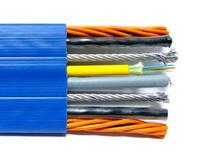 鋼絲加強型扁電纜