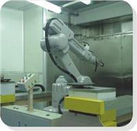 機器人噴漆演示 TW-0700X-002