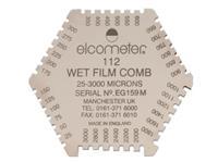 英国易高Elcometer112AL铝制湿膜梳 Elcometer112AL
