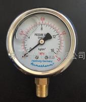 YN-60双显示0-0.6/1/1.6/2.5/10/16/25/40MPA/KG耐震压力表 YN-60
