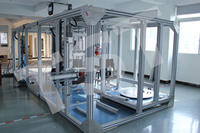 辦公椅座面、椅背強度耐久性組合測試儀 辦公椅強度/耐久性組合測試儀 TST-C1033