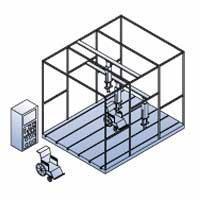 篮球架包扎物缓冲性能冲击试验机 KHJS-010