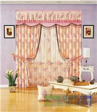 印花窗帘布-布艺窗帘制作