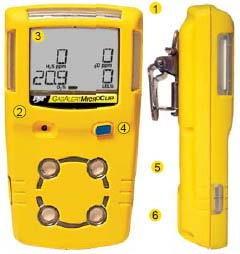加拿大 MC-X GasAlertMax 多气体检测仪