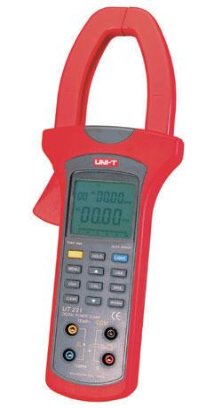UT231 单相数字钳形功率计