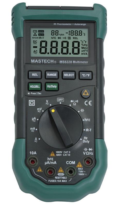 MS8228 带红外测温数字多用表产品