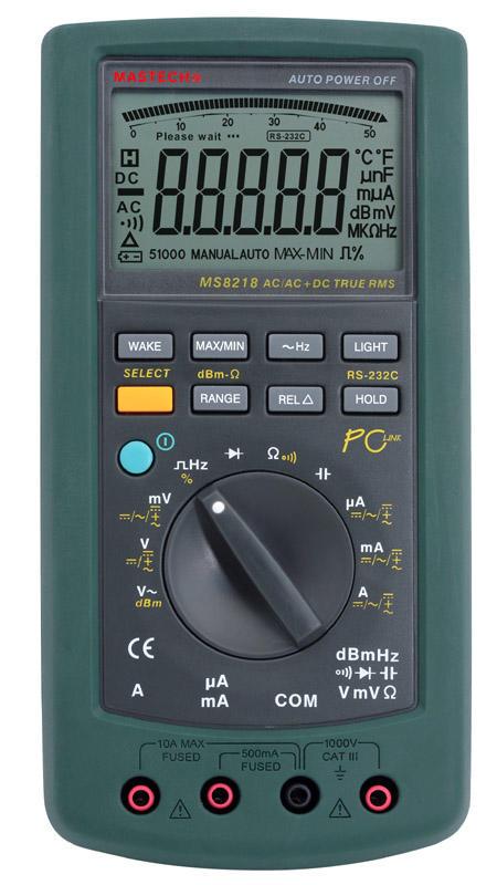 MS8218 高精度50000计数数字多用表