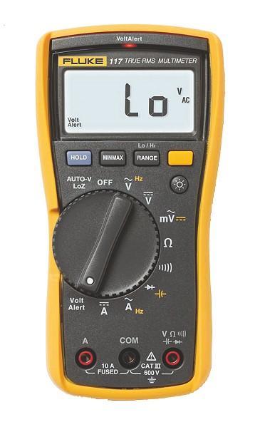 福禄克Fluke 117 非接触式电压测量万用表