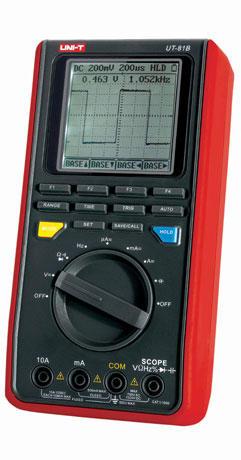 UT81B 示波型数字万用表 万用示波表