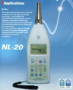 日本理音 (RION) NL-20 声级计