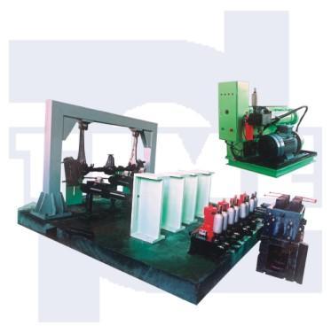 PLS-10 电液伺服多通道汽车构件疲劳试验系统