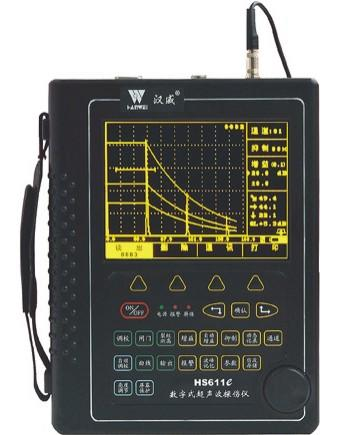 HS611e增强型场致高亮数字超声波探伤仪