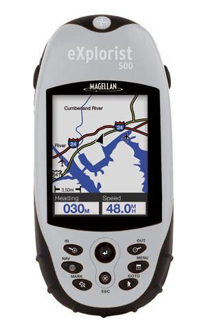 麦哲伦GPS explorist500