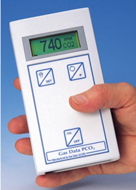 二氧化碳气体分析仪PCO2
