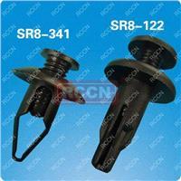 日成环保优质 闭口旋转尼龙铆钉 塑料铆钉 适用孔径8.0mm SR8-122
