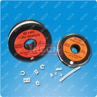 日成优质环保OC型开口硬质配线标志 数字号码管 号码管 标志环 OC