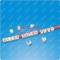 日成环保CM型开口硬质配线标志 数字号码管 号码管 配线标志 CM