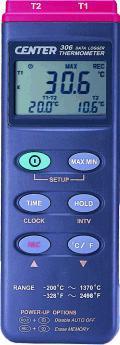 CENTER 306温度记录仪 CENTER 306