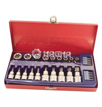 27 Pcs Bits Socket Set