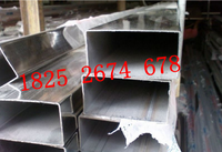 兴化不锈钢方管用于地铁门体 50*50*2