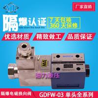 隔爆液壓閥電磁換向閥GDFW-03-2B3B/2B2/2B60-D24/B220 GDFW-03-2B3B/2B2/2B60-D24/B220