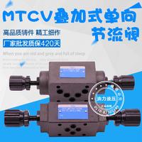 疊加式單向節流閥 MTCV-02W/02A/02P/02W/MTCV-03W/03A/03B/03P