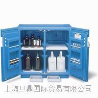 24160进口Justrite  实验室腐蚀性化学品蓝色储藏柜报价