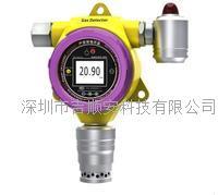 固定在线式硫化氢带显示带检测带声光报警一体机