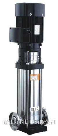 轻型不锈钢立式多级离心泵 DLB