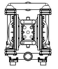胜佰德sandpiper气动隔膜泵T15B1SDSWTS600 T15B1SDSWTS600