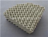 萍鄉百盛價格低廉阻力小規整填料波紋填料 陶瓷波紋填料,塑料波紋填料,金屬波紋填料