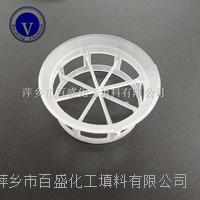 萍鄉百盛環保易裝卸塔內件塑料扁環填料