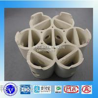 萍鄉百盛熱水飽和塔填料輕瓷多齒環 輕瓷多齒環 XA-1 205 15 12 60 124 79 330 220