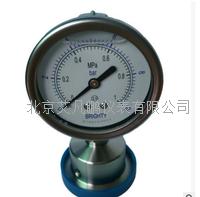卫生型隔膜压力表 PTHN-063.AO.513.M120.F06 0-1MPa 卡盘连接