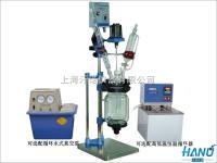 上海实验室小型双层玻璃反應釜 1L-5L