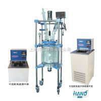 上海实验用双层玻璃反應釜 10L-50L