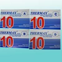 英国THERMAX(TMC)温度美10格热敏贴纸 10格热敏贴纸