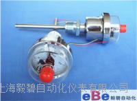 上海WSX-71轴向电接点双金属温度计价格/生产厂家 WSX-71