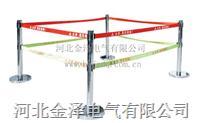 不锈钢警示带伸缩围栏 单带/双带 3m—5m , 栏高: 1m