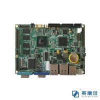 成都重慶3.5寸INTEL N455 6串口2網絡板載內存嵌入式工控主板