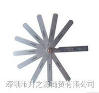 日本SSK厚薄规|100ML塞尺|0.01-1.0MM 19片塞尺 100ML