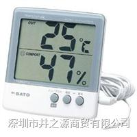 PC-5000THR II数字式温湿度表,温湿度记录仪,日本SATO电子式温湿度仪 PC-5000THR II/1050-00